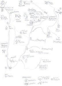 Χάρτης διαδρομών Βελημάχι