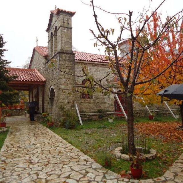 Επίσκεψη στη Μονή Βαρνάκοβας